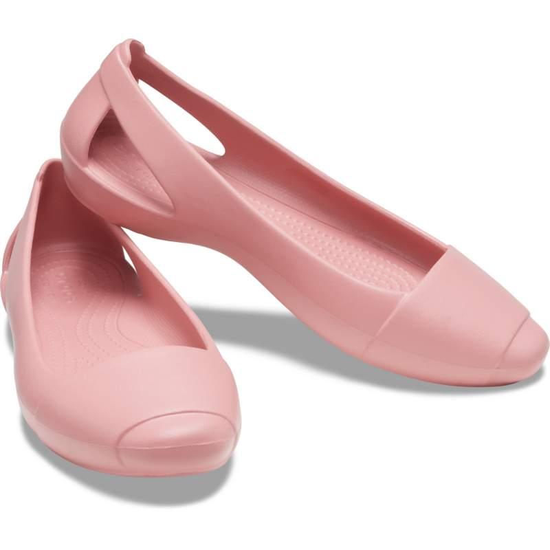 [クロックス公式] フラットシューズ クロックス シエンナ フラット ウィメン レディース、ウィメンズ、女性用 ピンク 24cm Women's Crocs Sienna Flat 50%OFF セール アウトレット