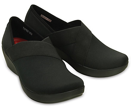 Crocs Busy Day Stretch Asymmetrical Wedge dohXqWt