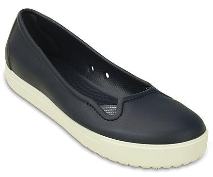 Crocs Shoes  Crocs Citilane Flat Womens Flats NavyWhite