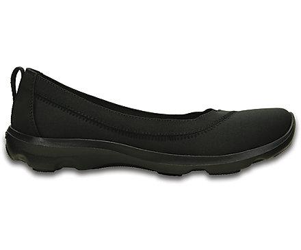 181634e53ec38 Women s Busy Day Stretch Flat - Crocs
