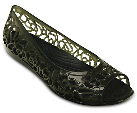 85c47c26ece35 Women s Crocs Isabella Jelly Flat - Crocs