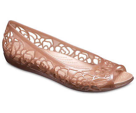 cd3003c910d0 Women s Crocs Isabella Jelly Flat - Crocs