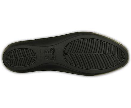 c58a0ab60501 Women s Crocs Sienna Shiny Flat - Crocs