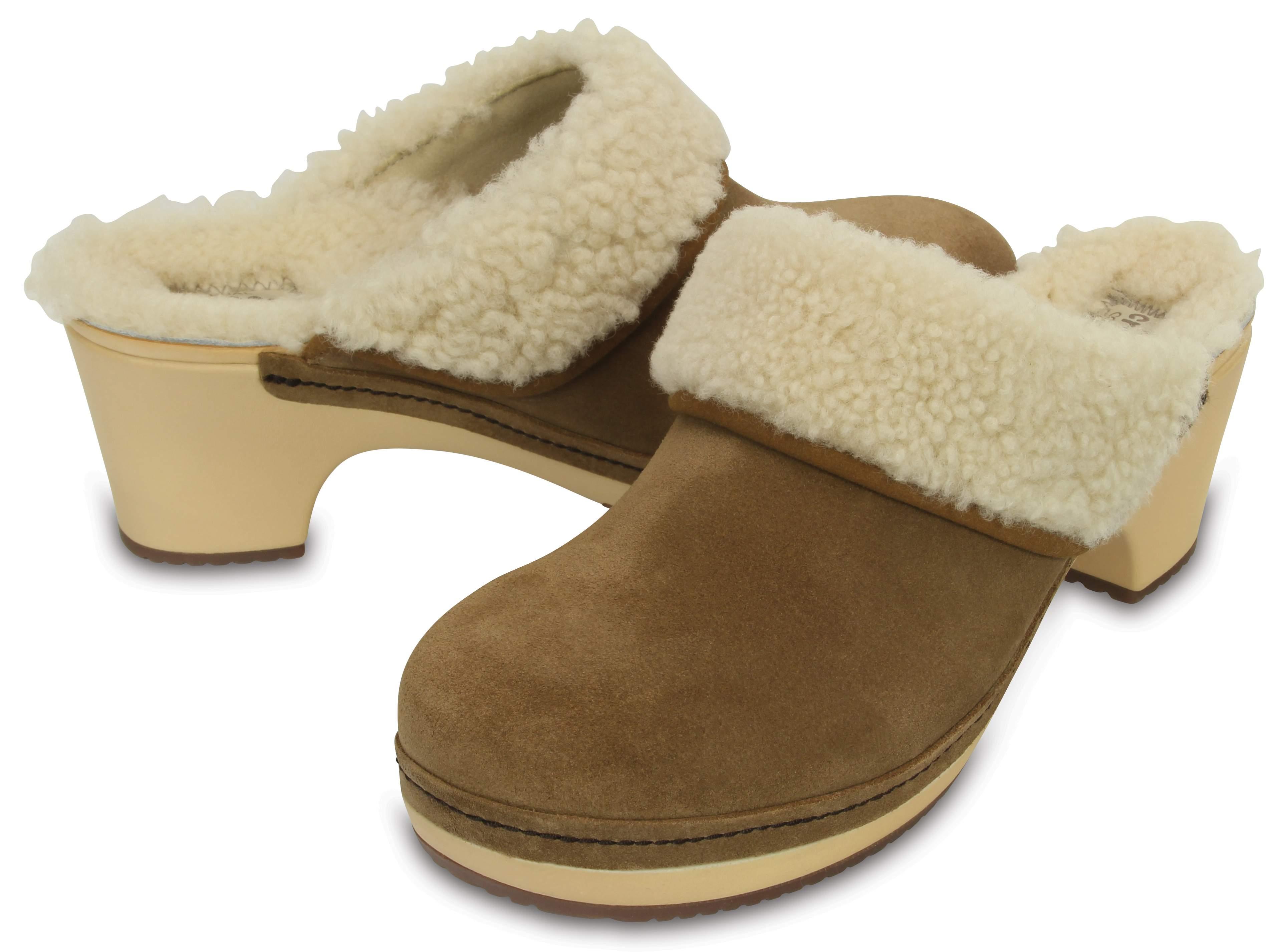crocs Women's Sarah Luxe Lined Clog Mule