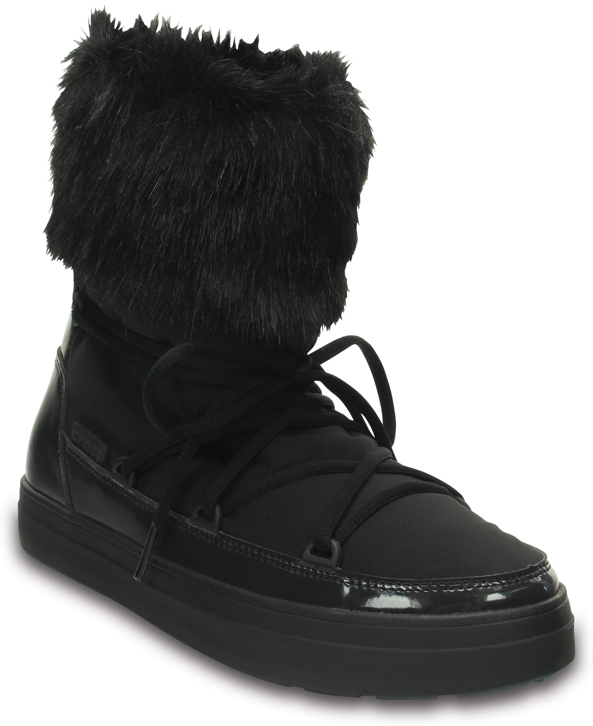 Crocs Lodgepoint Lace Boot W Noir