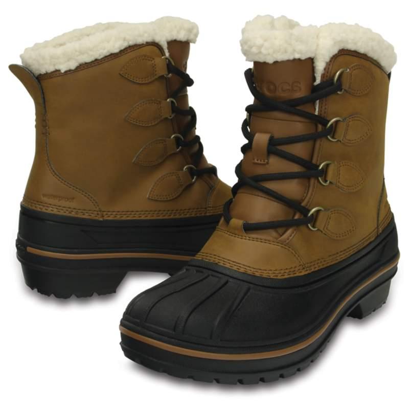 [クロックス公式] 長靴 オールキャスト 2.0 ブーツ ウィメン レディース、ウィメンズ、女性用 ブラウン/茶 21cm Women's AllCast II Boot 50%OFF セール アウトレット
