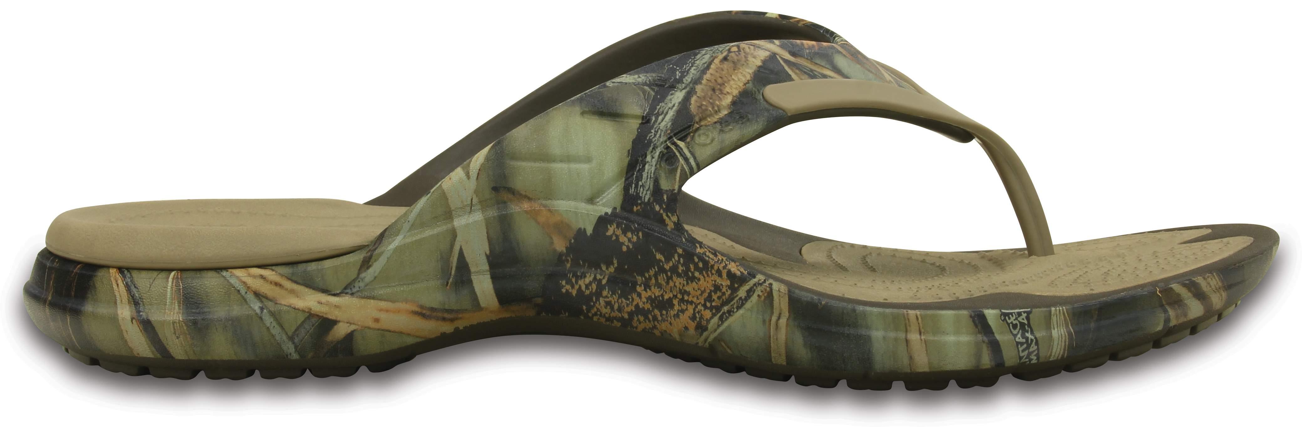 Crocs MODI Sport Realtree Max-4 Flip Flop Sandal