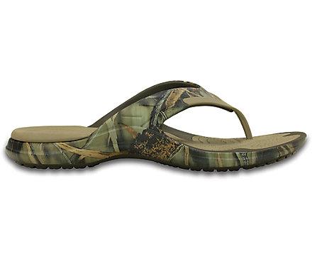 Crocs MODI Sport Realtree Max-4 Flip Flop Sandal OukDeY8CH
