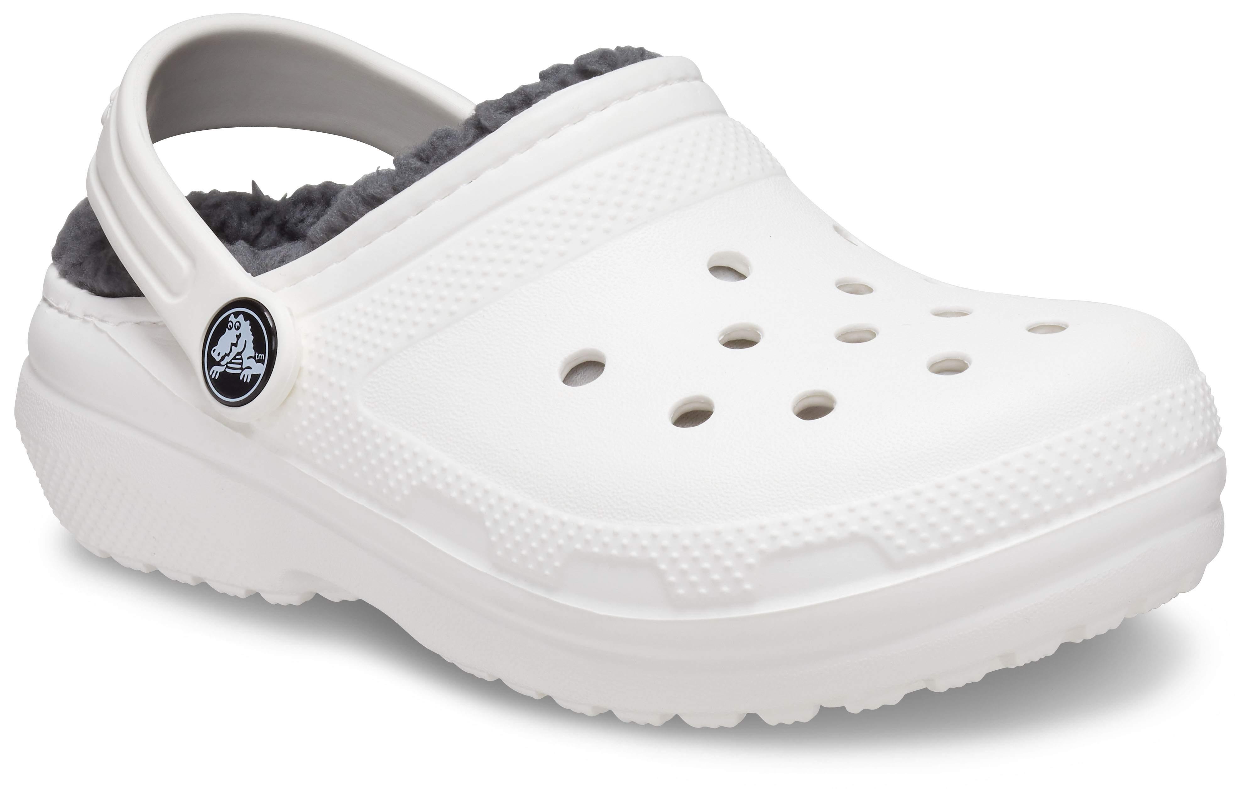 Slate Grey 2 M US Little Kid Crocs Kids Classic Clog