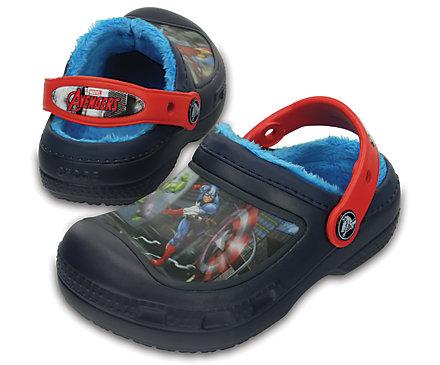 76c10ab0b75c Shoes Boys Marvel Avengers Captain America Iron Man Thor Hulk Slippers UK  Size 7-2 Grey