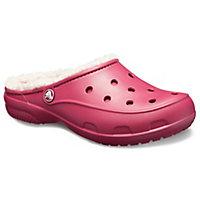 Deals on Crocs Womens Freesail Plush Fuzz-Lined Clog