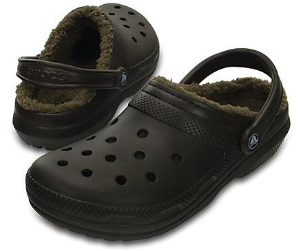 ecdd48f56 Classic Fuzz-Lined Clog - Crocs