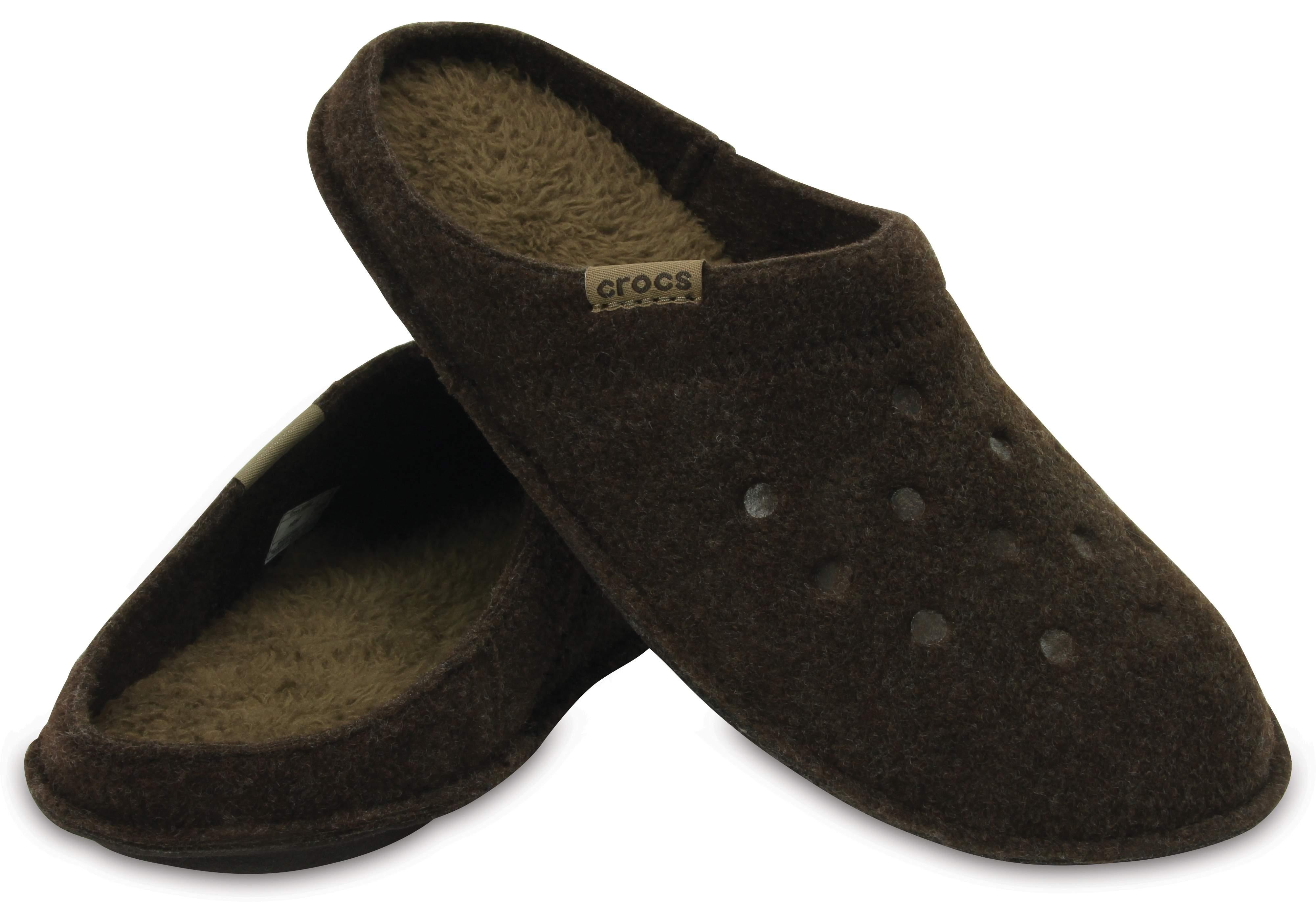 【クロックス公式】 クラシック スリッパ Classic Slipper ユニセックス、メンズ、レディース、男女兼用 ブラウン/茶 24cm,26cm,28cm slipper