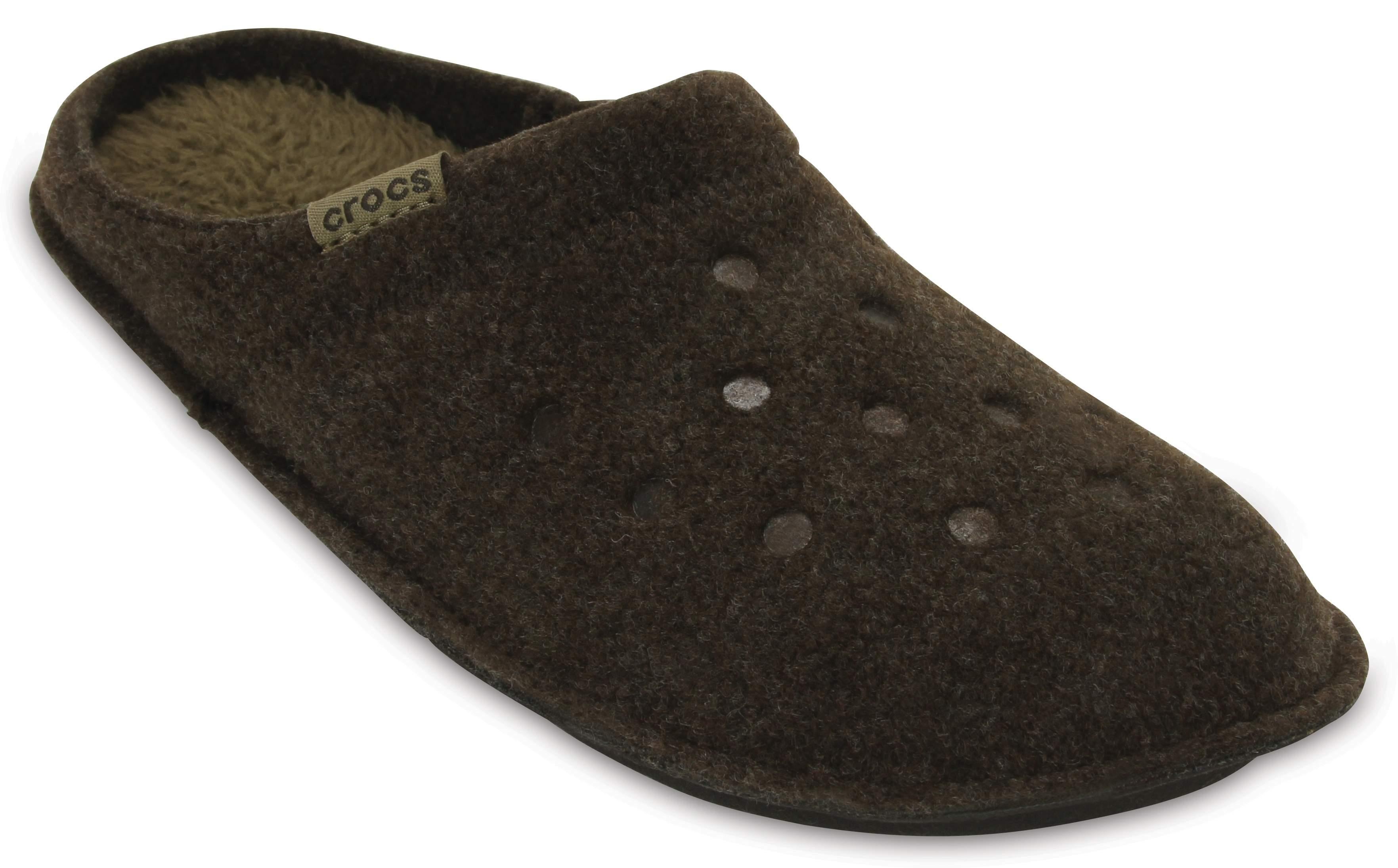 Crocs CLASSIC - Slippers - nautical navy/oatmeal