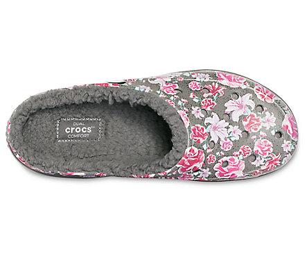 d03aa76aa Women s Crocs Freesail Graphic Fuzz-Lined Clog - Crocs