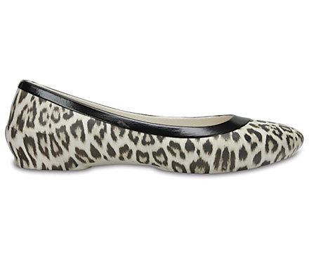 Womens Linagraphicflat Ballet Flats Crocs di55lD