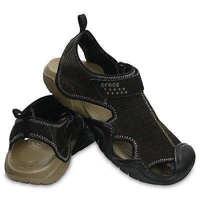 Crocs Men's Swiftwater OL Sandals Dark Brown