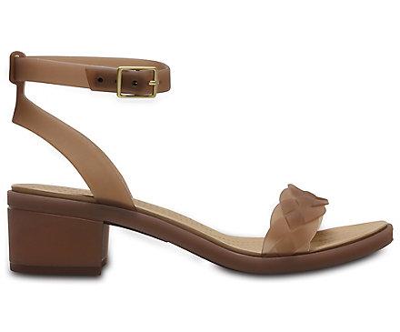 21e04095083d Women s Crocs Isabella Block Heel - Crocs