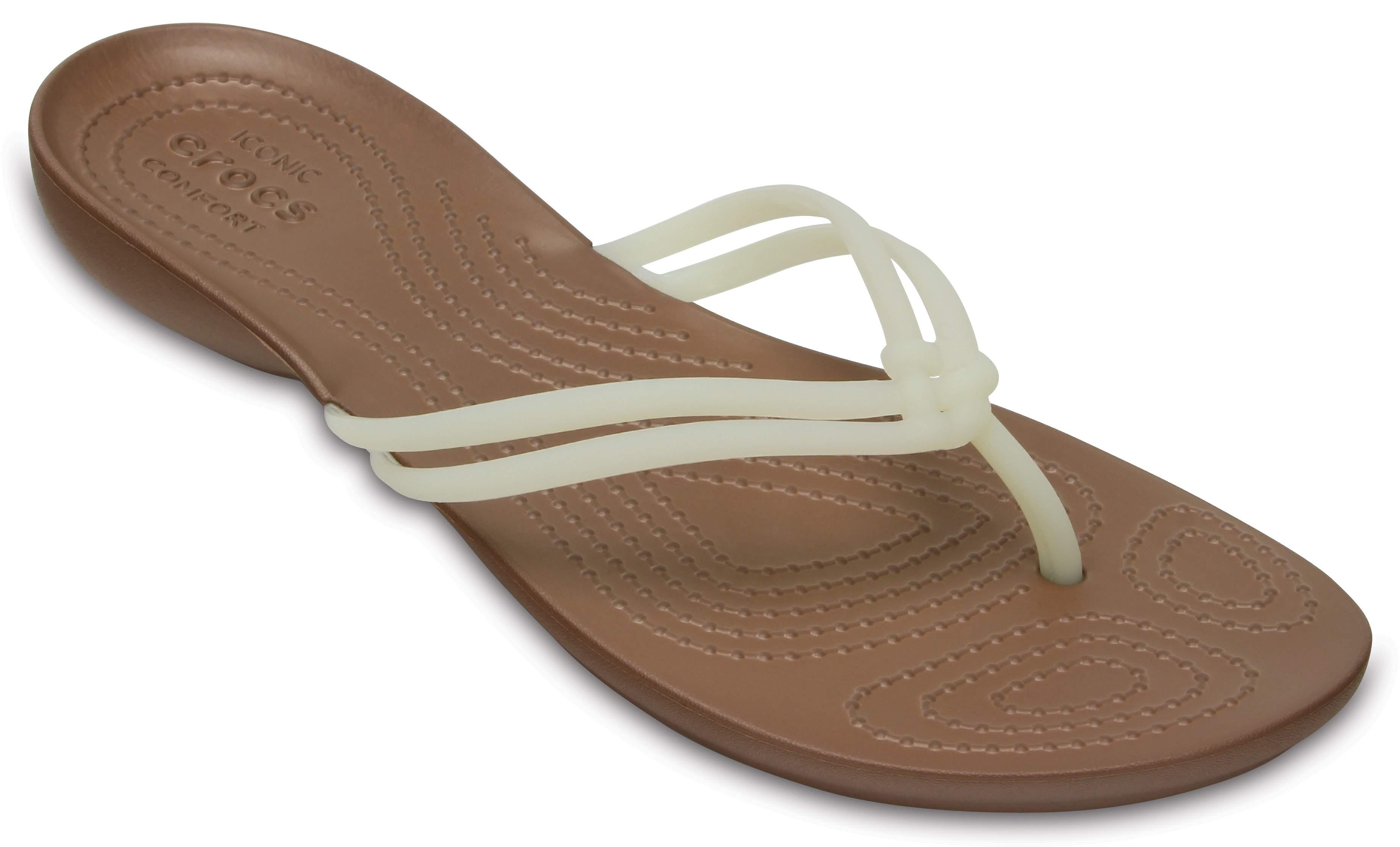 Crocs Isabella Flip W 36-37, Black (Schwarz)