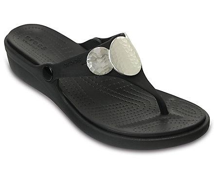 Crocs™ Sanrah Embellished Wedge (Women's) P9lKiCe