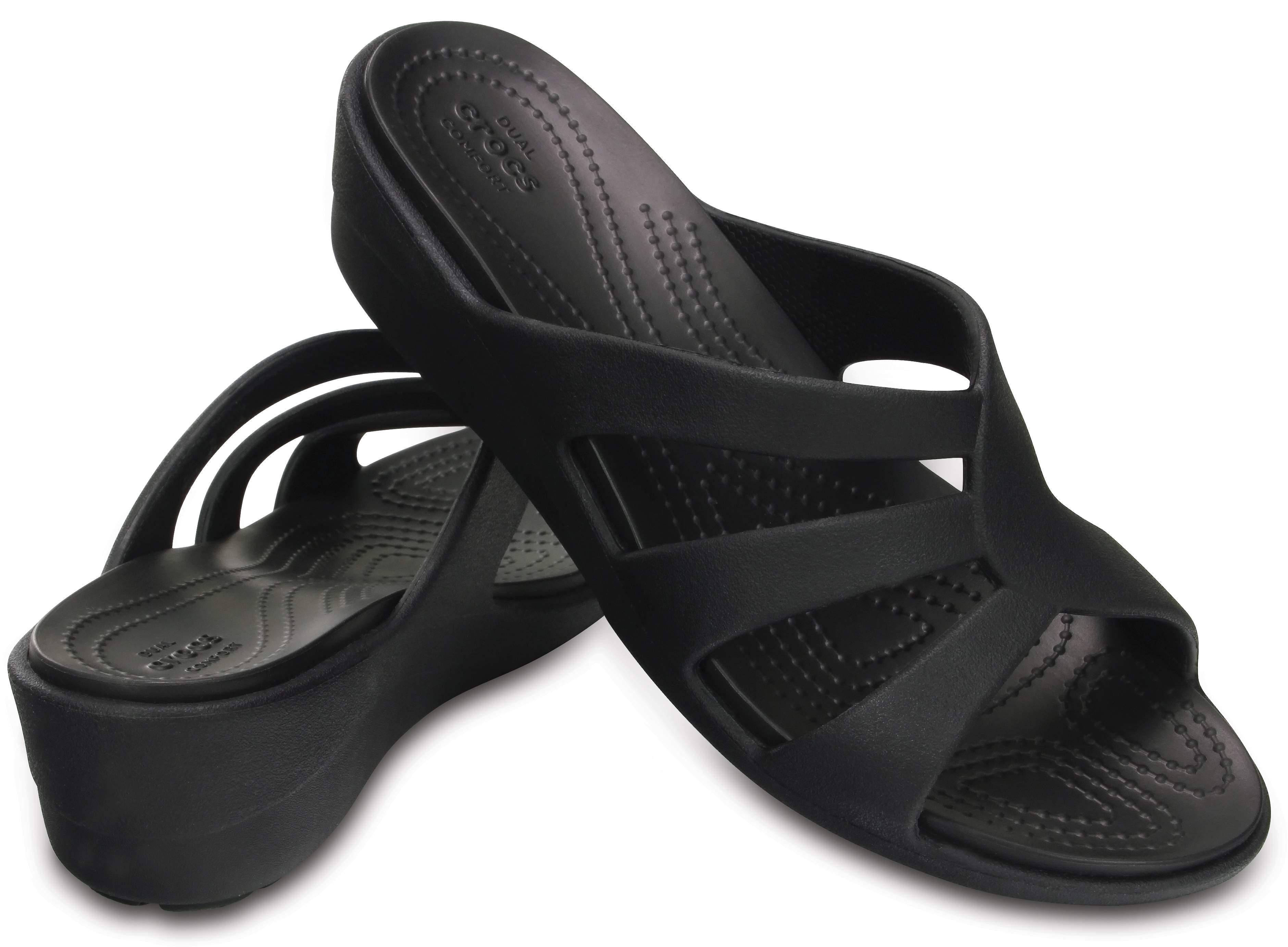 Crocs Sanrah Women's Strappy ... Wedge Sandals