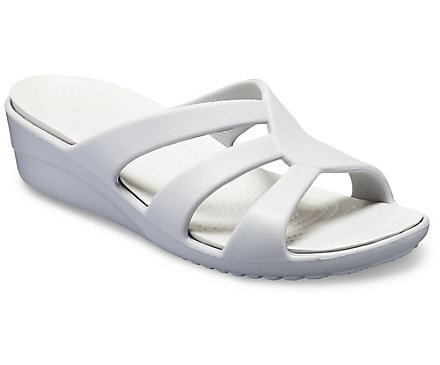 3da7950f426c Women s Sanrah Strappy Wedge - Crocs