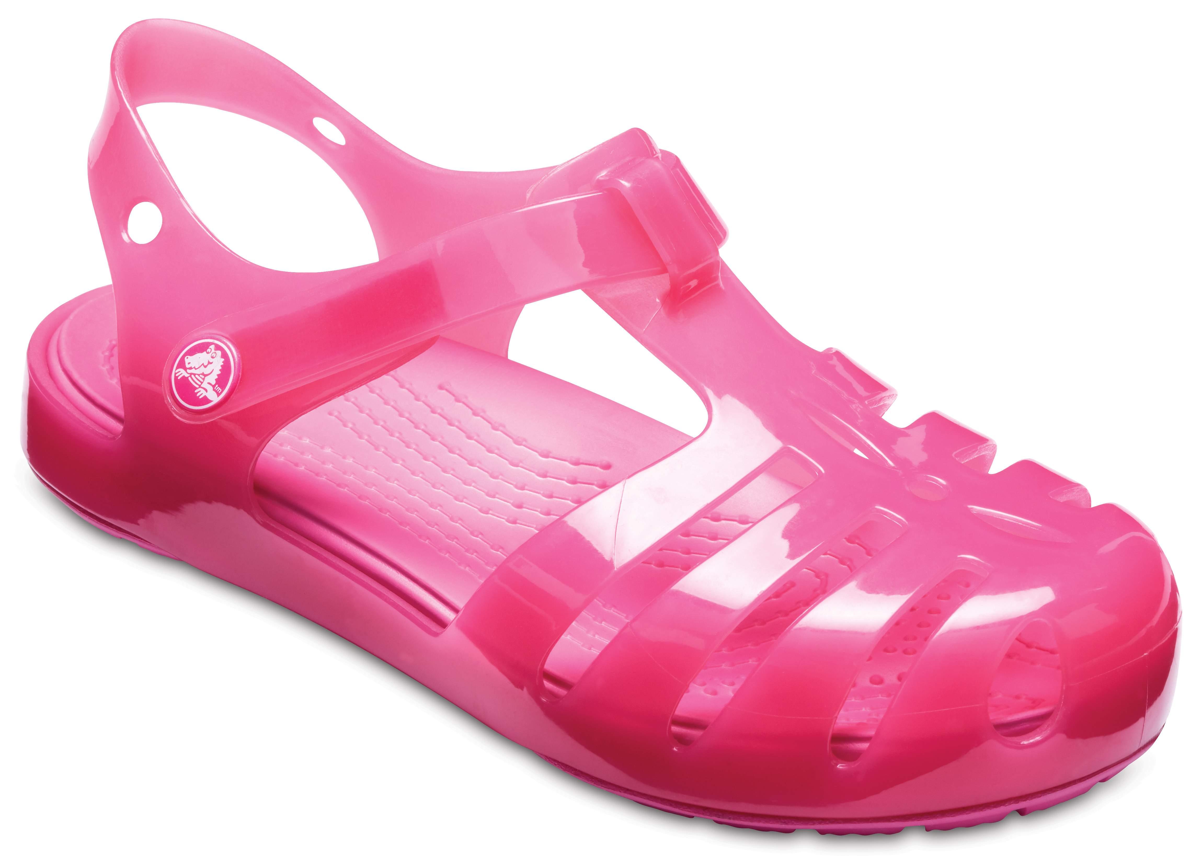 Sandalen CROCS - Isabella Sandal Ps 204035 Paradise Pink