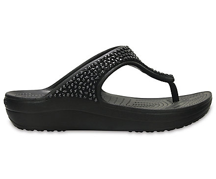 700c59249 Women s Crocs Sloane Embellished Flip - Crocs