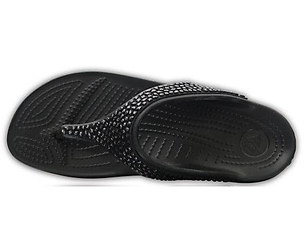 3ca9de088cf7 Women s Crocs Sloane Embellished Flip - Crocs