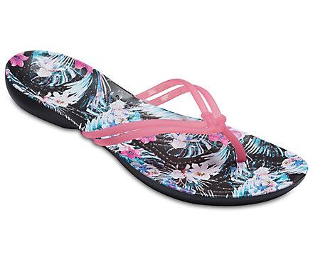 Women's Crocs Isabella Graphic Flip