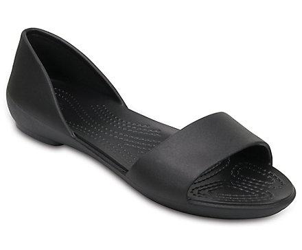 ca3f5000db78 Women s Crocs Lina D Orsay Flat - Crocs