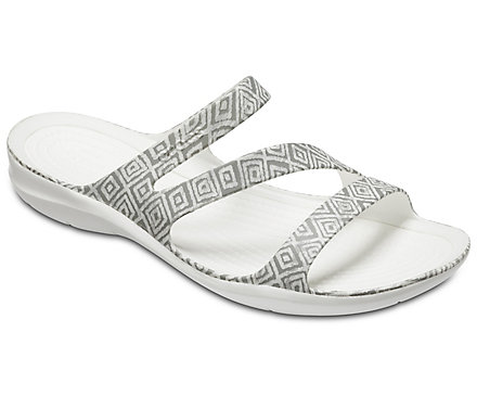 b2570e7fe60e1 Women s Swiftwater™ Graphic Sandal - Crocs