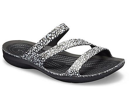 14684985ed8a Sandales à motifs Swiftwater   sandales pour l eau pour femmes de Crocs
