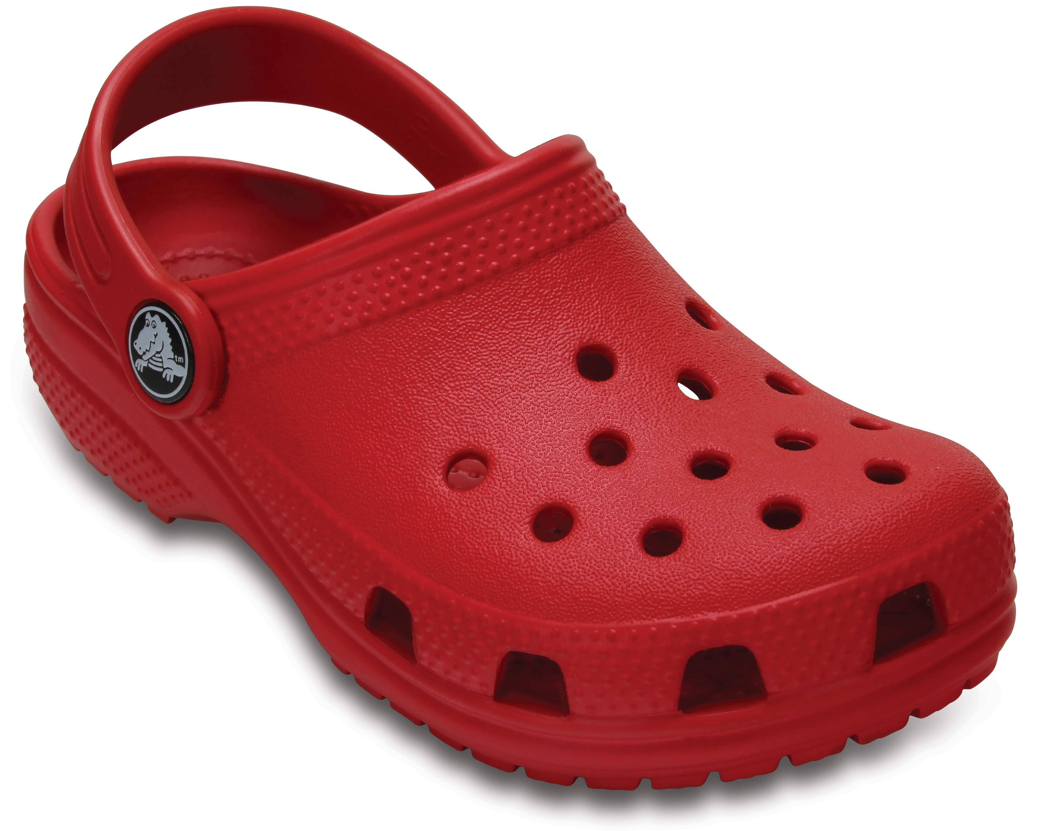 Crocs Classic Clog Kids Tangerine Croslite