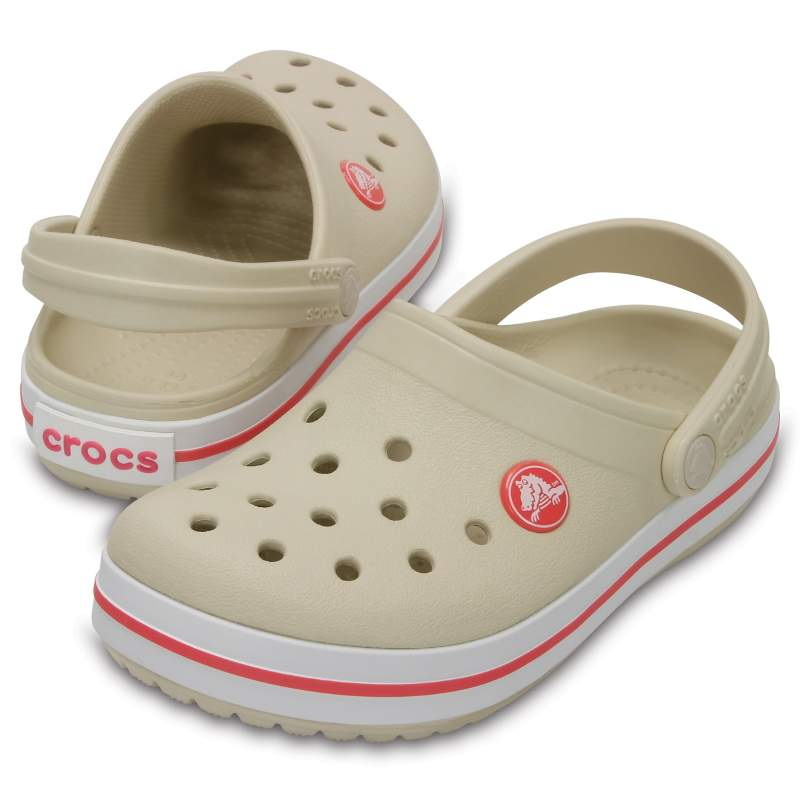 クロックス 公式オンラインショップ【クロックス公式】 クロックバンド クロッグ キッズ Kids' Crocband Clog ユニセックス、キッズ、子供用、男の子、女の子、男女兼用 ホワイト/白 18cm,19cm clog クロッグ サンダル 10%OFF