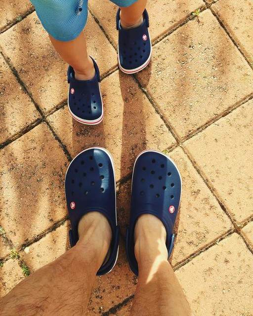 Crocs Kids Crocband Graphic Clog Slip On Water Shoes for Boys and Girls