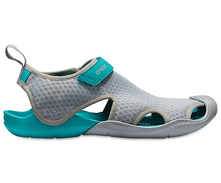 clearance outlet store Crocs Swiftwater Mesh Grey Flip Flops sale supply low cost for sale 0CDIXF8QNy