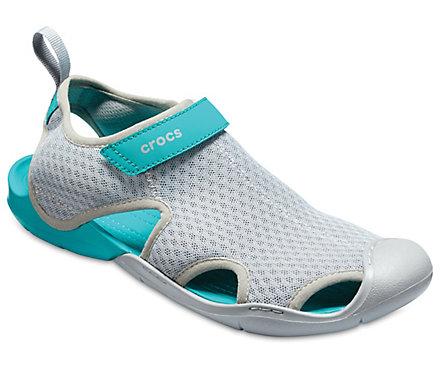 Womens Swiftwater Mesh W Wal Wedge Heels Sandals Crocs 6ojjqEd