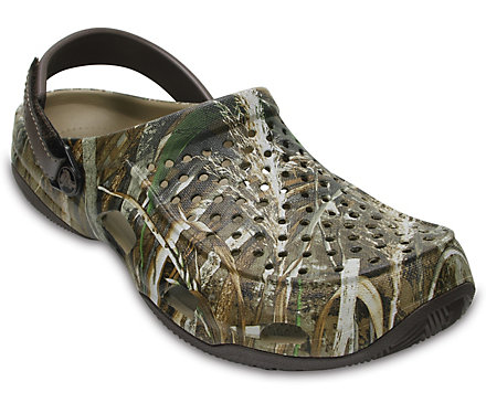 79ed9a956bf3cf Men s Swiftwater™ Realtree Max-5® Deck Clog - Crocs