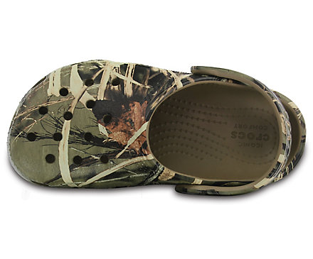 Boys' Shoes Boys Army/camouflage Crocs Size 9
