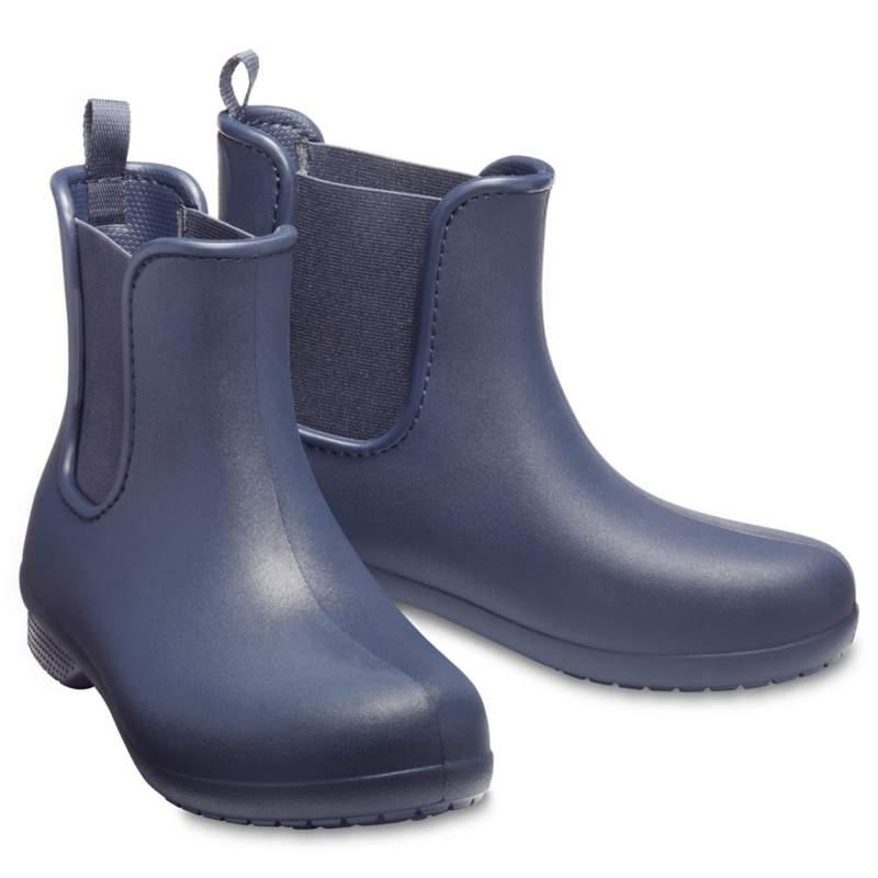 【クロックス公式】 クロックス フリーセイル チェルシー ブーツ ウィメン Women's Crocs Freesail Chelsea Boot ウィメンズ、レディース、女性用 ブルー/青 21cm boot ブーツ