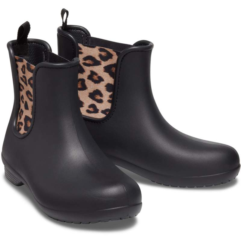 【クロックス公式】 クロックス フリーセイル チェルシー ブーツ ウィメン Women's Crocs Freesail Chelsea Boot ウィメンズ、レディース、女性用 ブラック/黒 21cm,22cm,23cm,24cm,25cm,26cm boot ブーツ 50%OFF