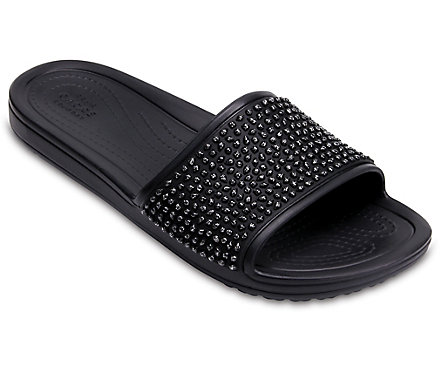b5a2e8784 Women's Crocs Sloane Embellished Slide - Crocs