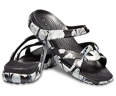 ed372713cf99 Sandalia Meleen Twist con estampado para mujer - Crocs