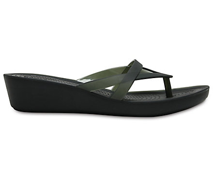 03af76acf6b2 Women s Crocs Isabella Wedge Flip - Crocs