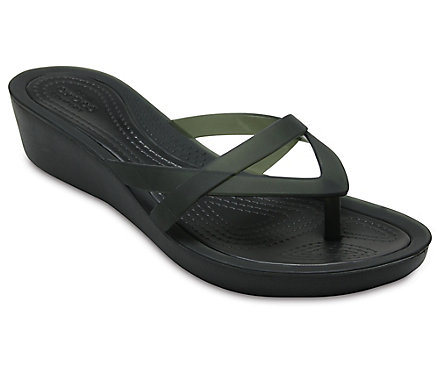 0c5487c53 Women s Crocs Isabella Wedge Flip - Crocs