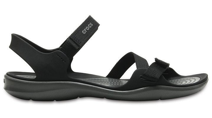 54f109a5b9baf Details about Crocs Womens Swiftwater Webbing Sandal