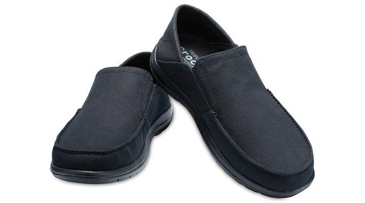 fed235c8de579 Crocs-Mens-Santa-Cruz-Convertible-Slip-Ons thumbnail 9