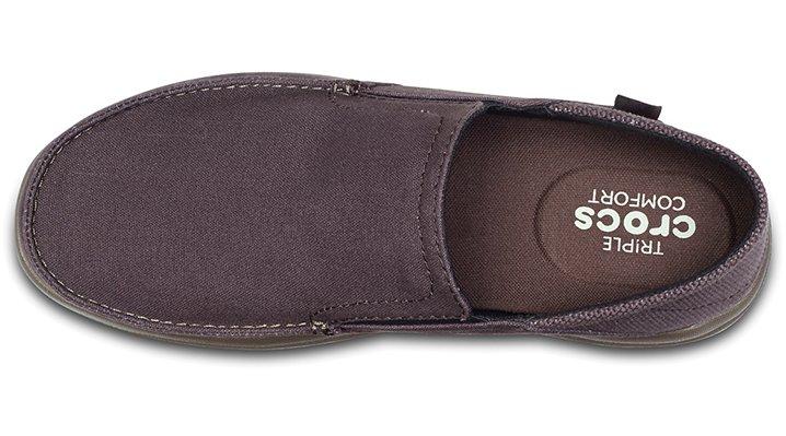 9239e4c3b3467 Crocs-Mens-Santa-Cruz-Convertible-Slip-Ons thumbnail 16