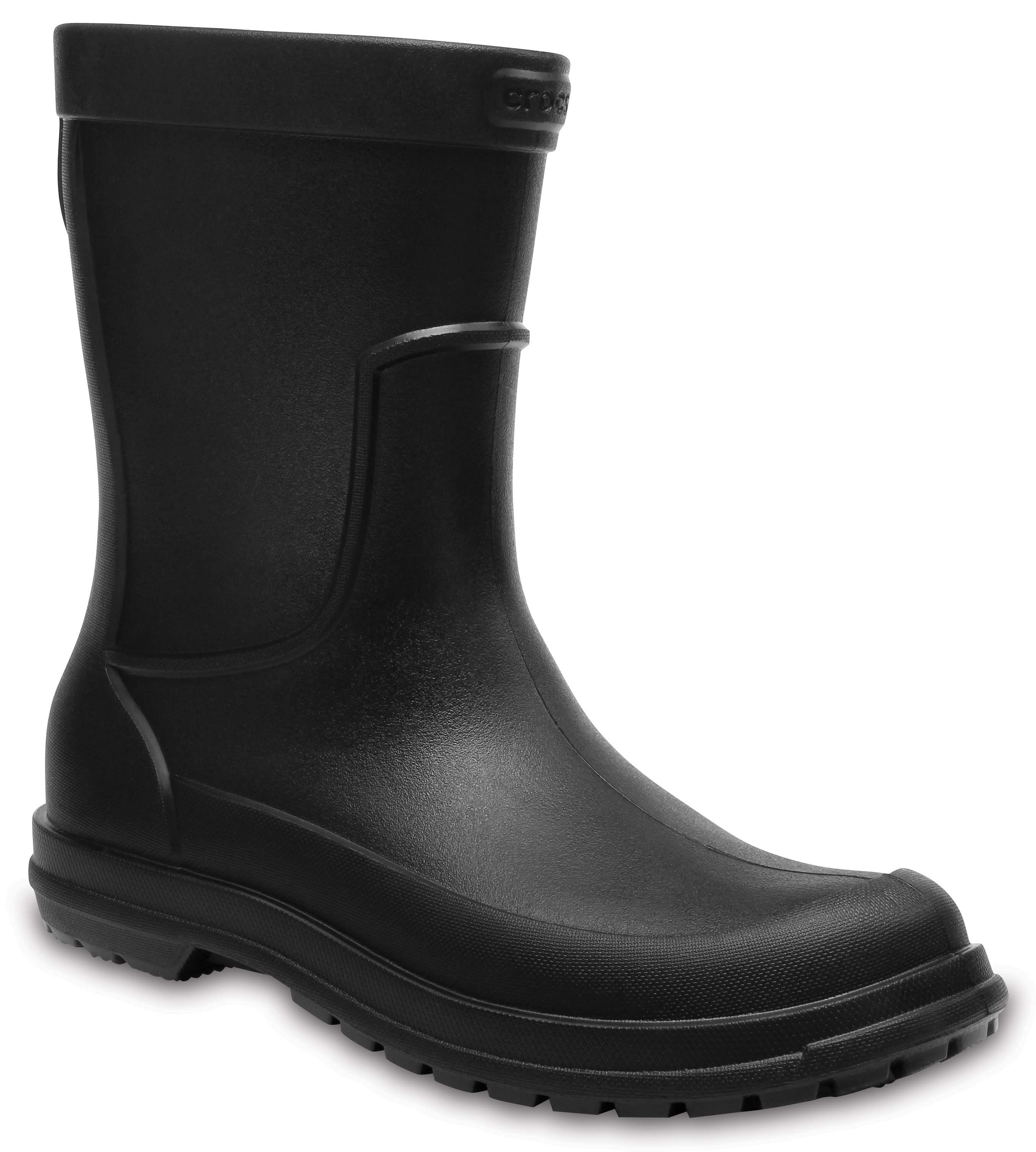 Crocs AllCast Rain Boot M Negro wXSR3zMmet